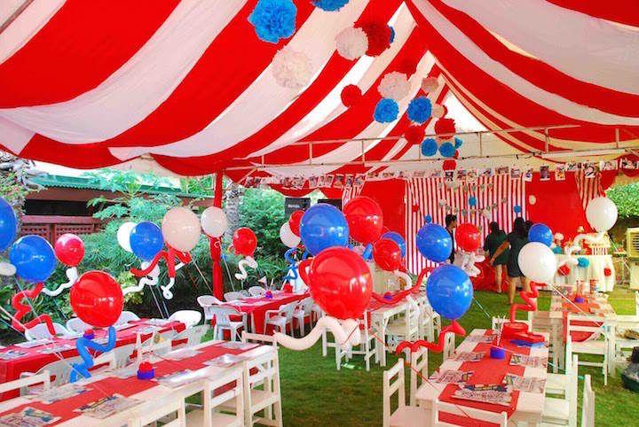 Decoraci n para fiestas infantiles de tema carnaval for Decoracion para carnaval