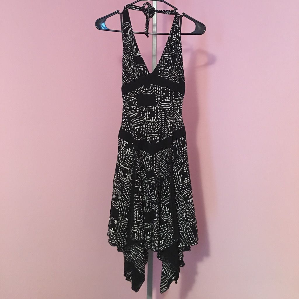 Bebe size s halter dress bebe and products