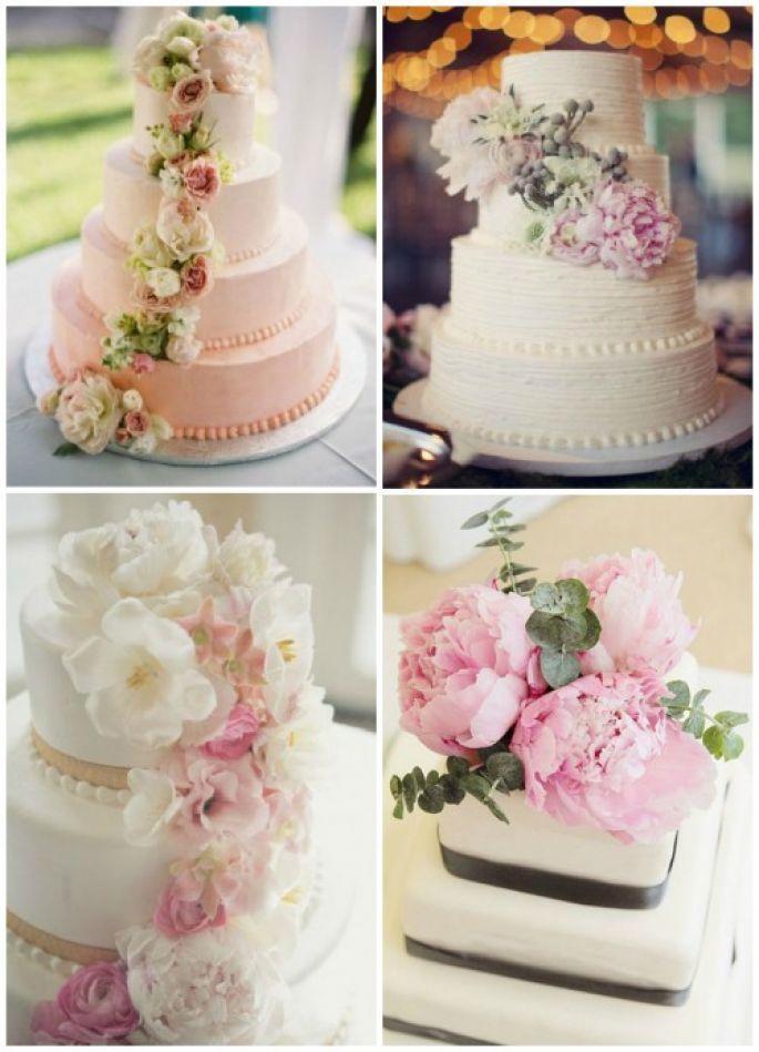 Slodko I Naturalnie Czyli Torty Weselne Zdobione Zywymi Kwiatami Vanilla Cake Desserts Cake