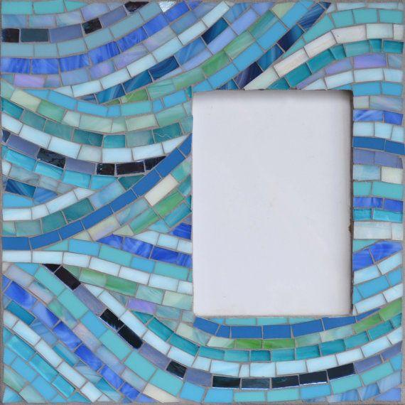 Handmade Glass Mosaic Photo Frame 12