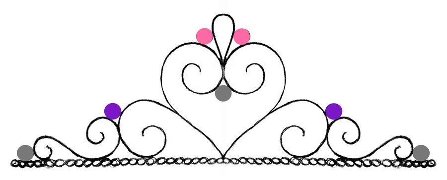 Resultado de imagen para molde de tiaras para imprimir para adorno ...