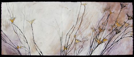 Helen Gotlib Queen Anne S Lace Ii Pen Ink And Gouache On