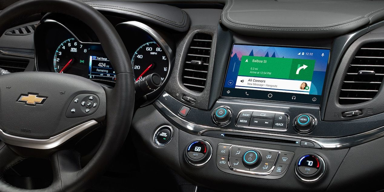 2018 Chevrolet Impala Interior at Chevrolet Cadillac of Santa Fe