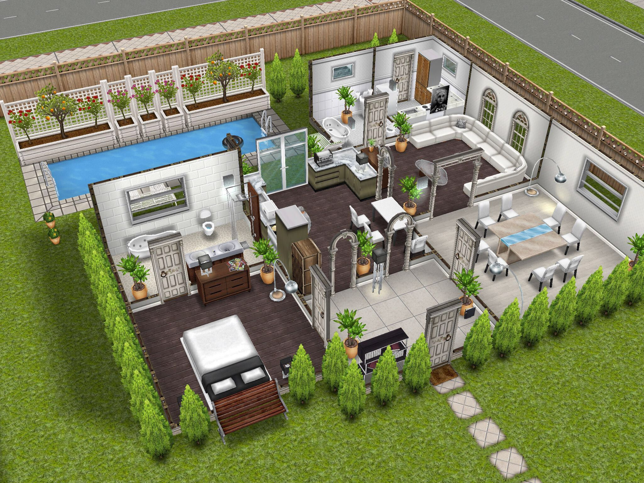 House design collection -  Thesimsfreeplay Simsfreeplay Thesims Housedesign Designedbyjade Xx