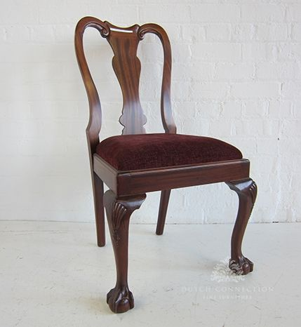 Queen Anne Dining Chair Queen Anne Ball Claw Dining Chair