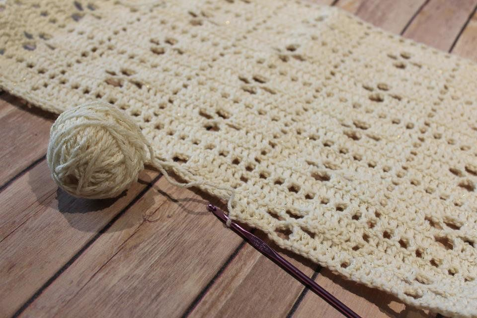 Crochet midwife Baby Blanket