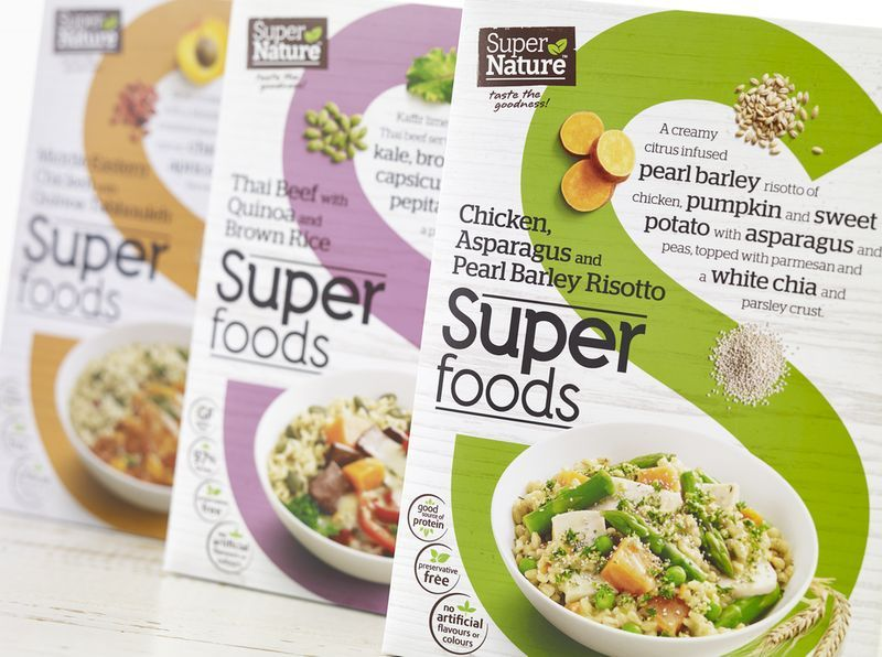 Frozen Superfood Packaging | Branding and Packaging Designs