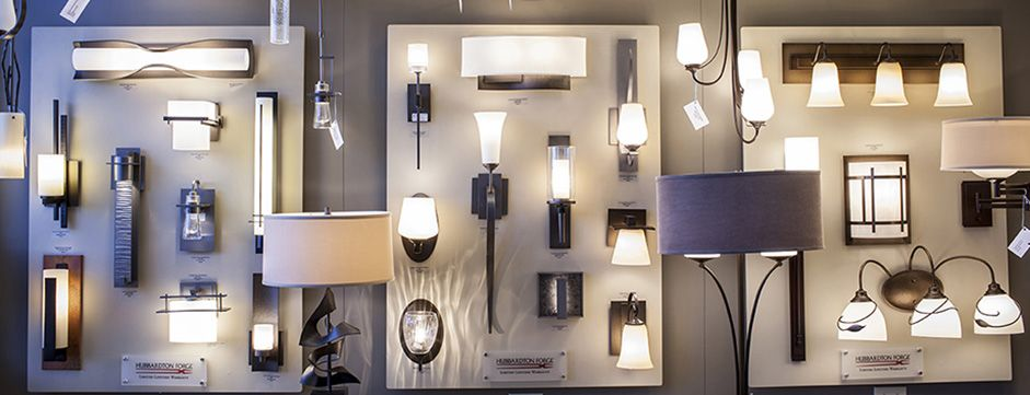 Our Hubbardton Forge Gallery Display Fogg Lighting