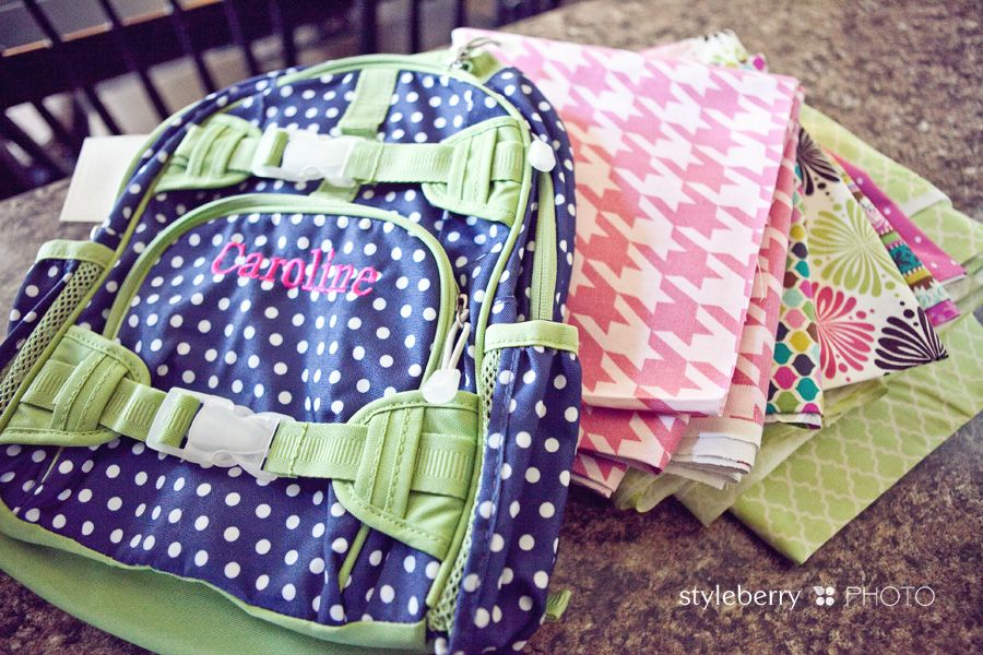 DIY Pottery Barn Kids Backpack | making it special