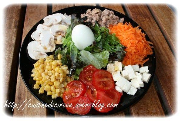 Salade composée 2 - La Cuisine de Circée