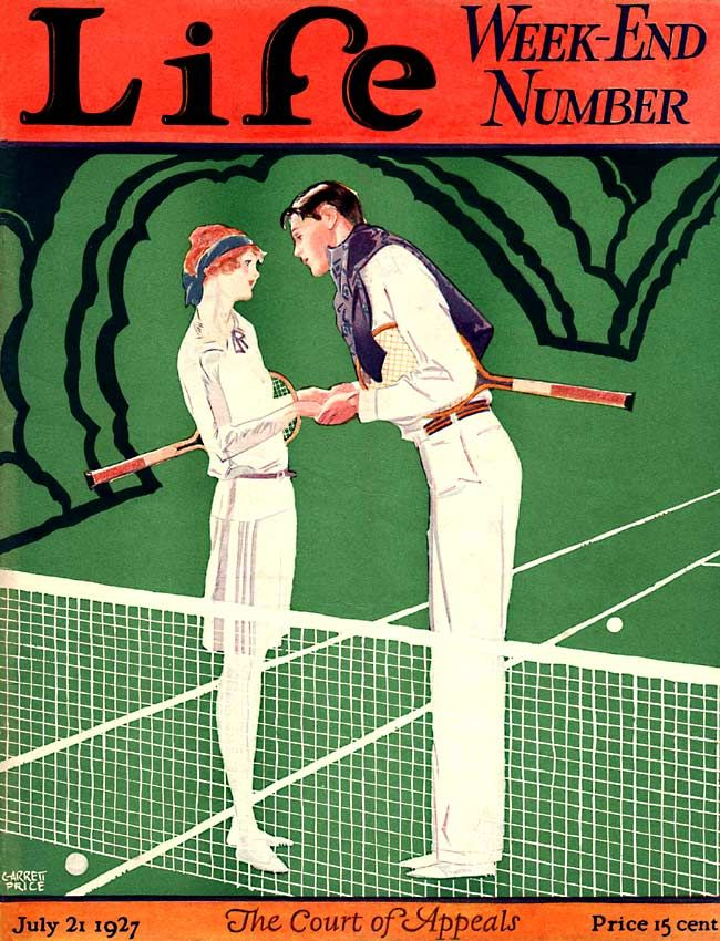 Life 1927 07 21 In 2020 Tennis Posters Magazine Cover Life Magazine Covers