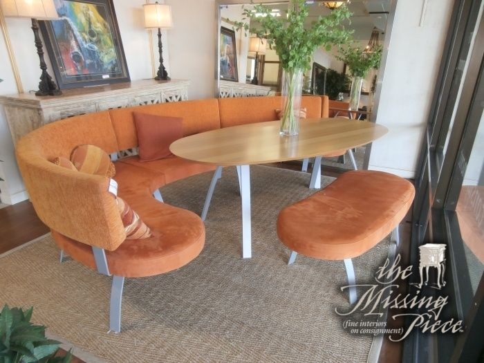 Wow What A Cool Retro Type Dining Table With Multiple Orange Beauteous Retro Dining Room Tables 2018