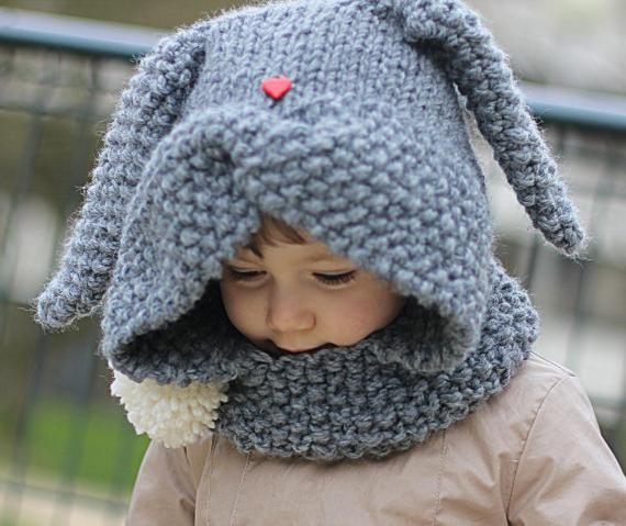 Детская шапка схема спицами