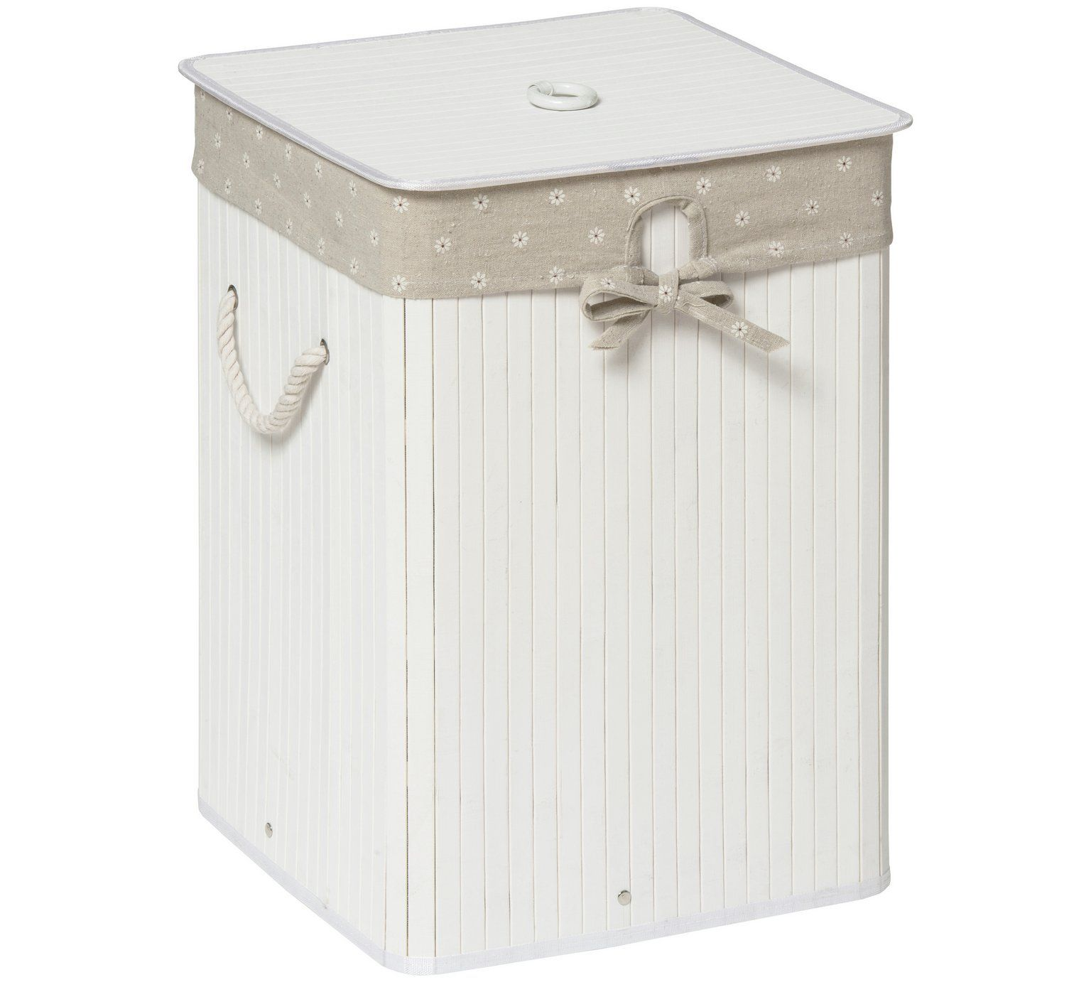 Buy Premier Housewares Kankyo 62L Square Laundry Hamper ...