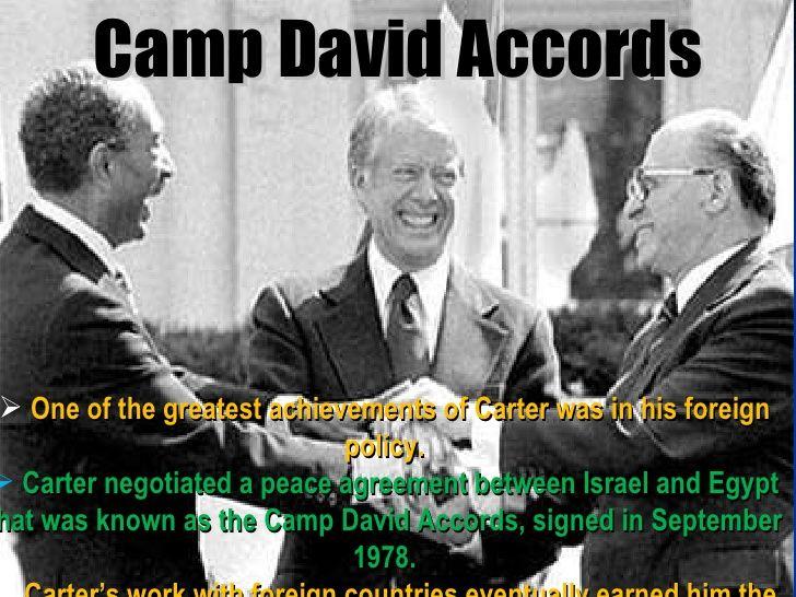 Camp David Accords Peace Between Egypt And Israel 1978 History