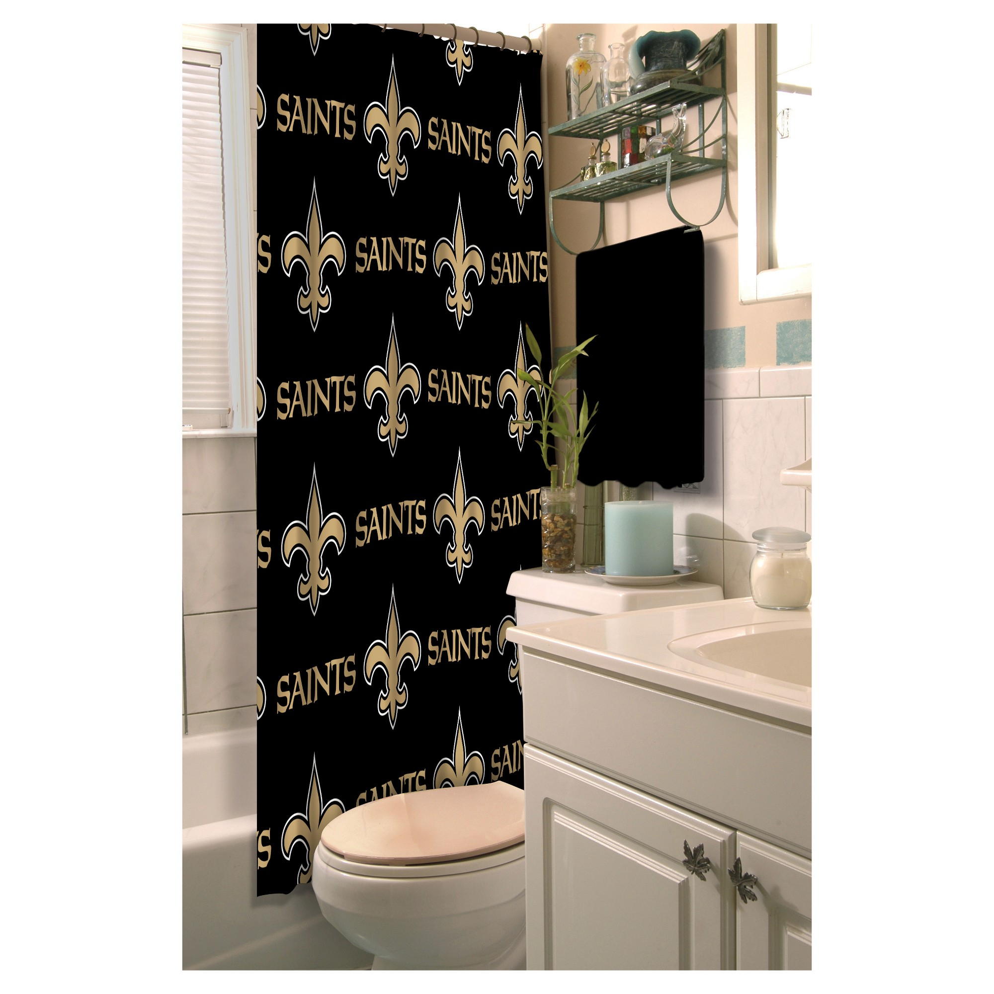 new pin shower rings curtain northwest products saints orleans