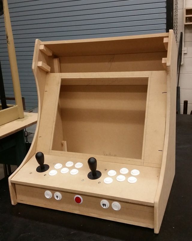 Plans For Building A Bartop Arcade System Using A Raspberry Pi