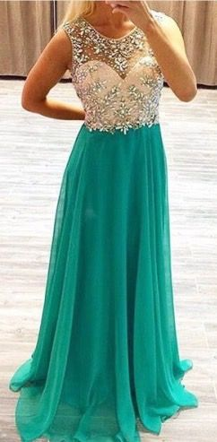 Beaded Open Back Homecoming/Prom Dress