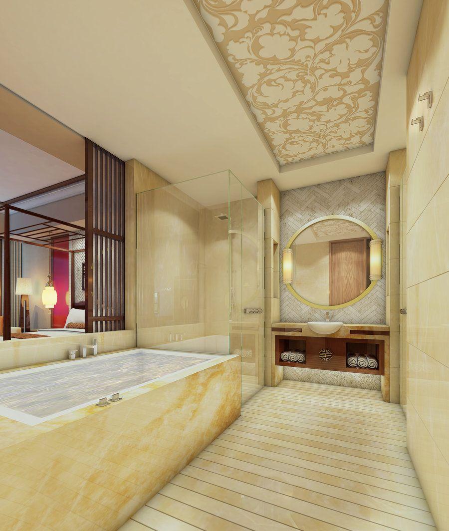 Chinese bathroom by Lionshima | House ideas | Pinterest | Bathroom ...