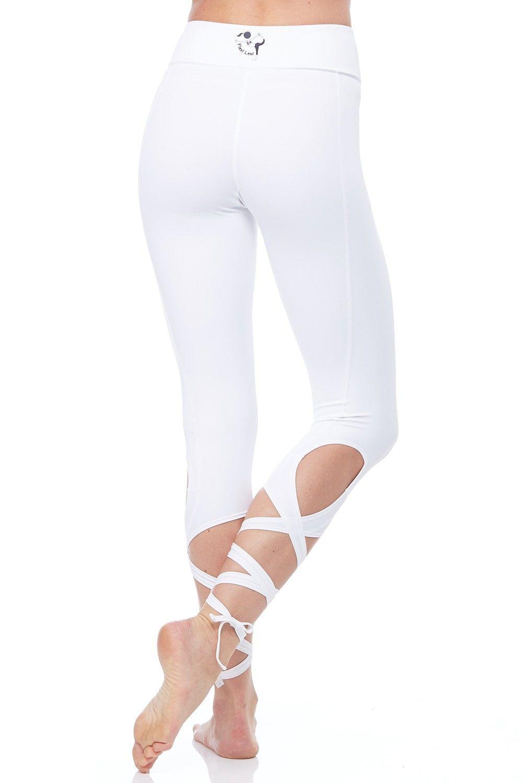 abc3ac5572c9c5 Flexi Lexi Clothing Flexi Dancer Legging in White | Fitness fashion ...
