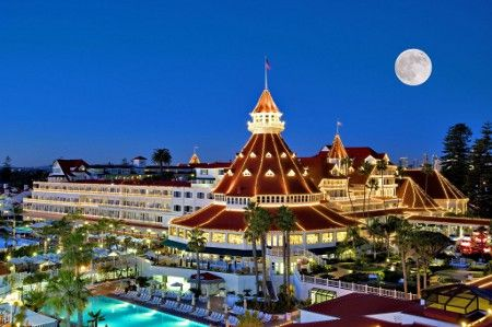 Beachfront Hotel Located In The City Of Coronado Unique Wooden Victorian Architecture Designated As A National Historic Landmark Since 1977 And
