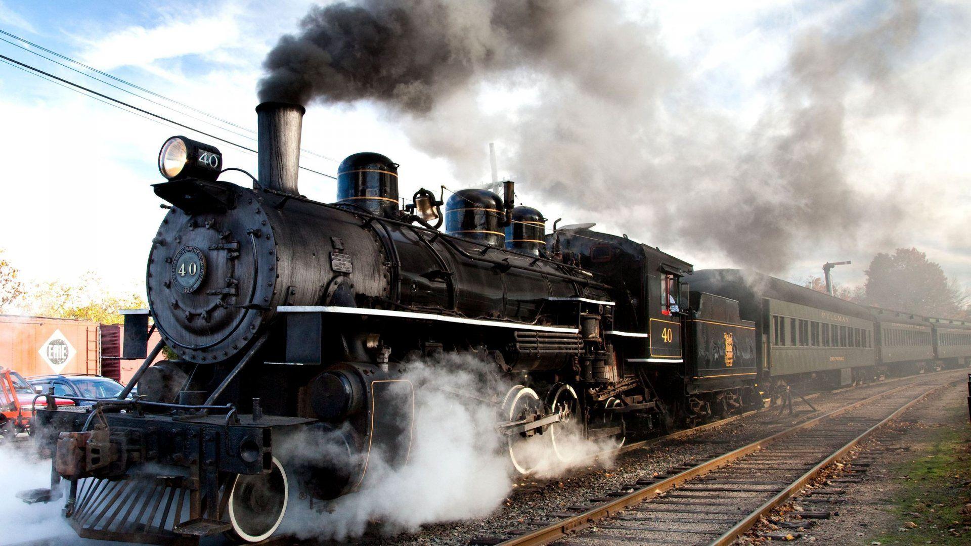 Hasil gambar untuk steam engine train