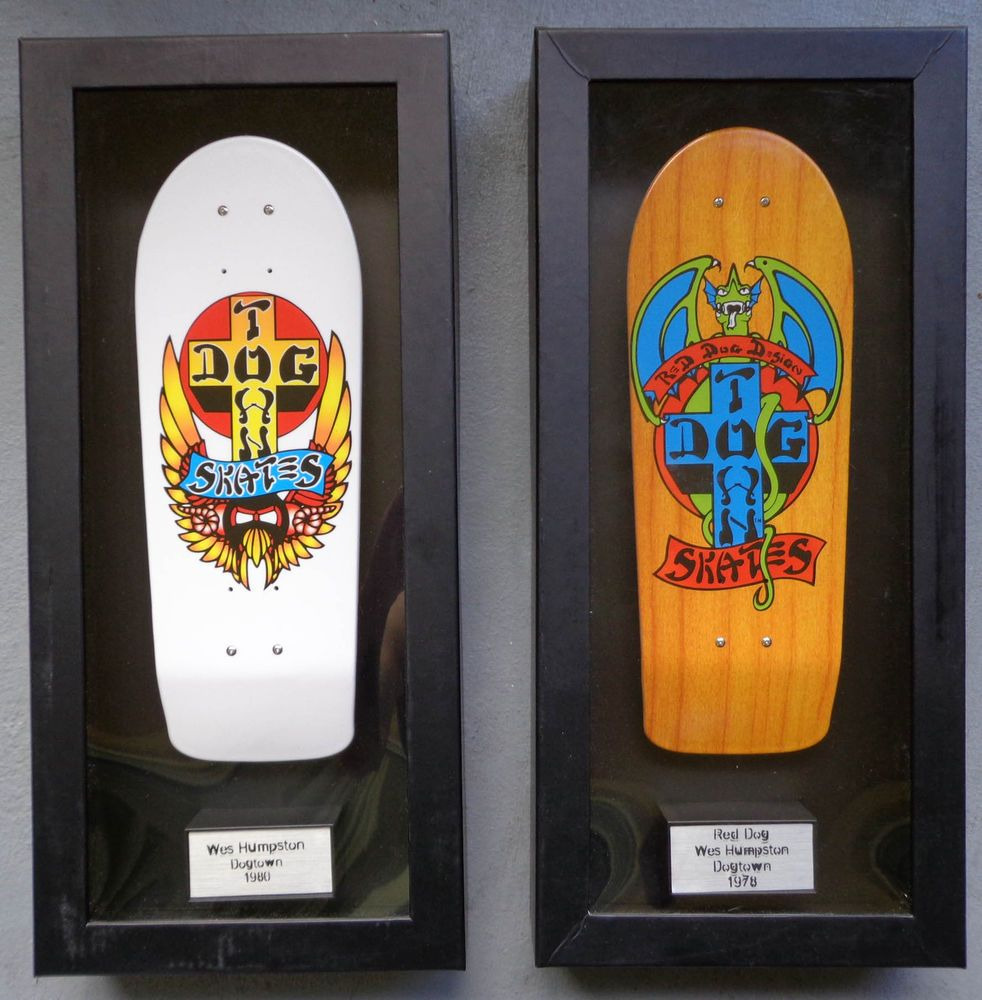 Tech Deck Collector Series Red Dog Dogtown Lot Of 2 Wes Humpston