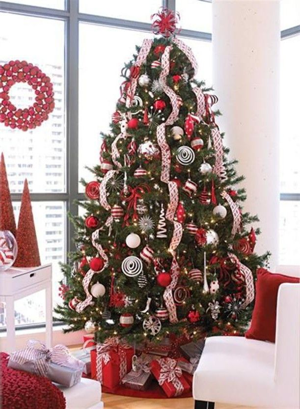 christmas tree white decorations - google search | christmas ideas