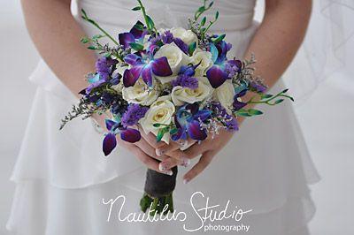 brautstrau rosen und orchideen blau wei brautstrau blau pinterest brautstrau rosen. Black Bedroom Furniture Sets. Home Design Ideas