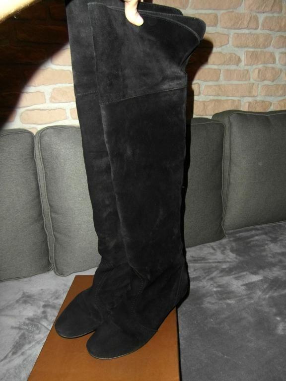 Kozaki Muszkieterki Venezia Rozm 38 39 5969115972 Oficjalne Archiwum Allegro Boots Over Knee Boot Knee Boots
