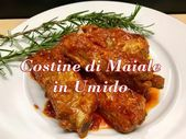 Photo of Stewed pork ribs – Savory dish – YouTube-Costine di maiale i…