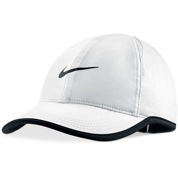 e15486078ea Nike Featherlight Cap ( 24) ❤ liked on Polyvore featuring accessories