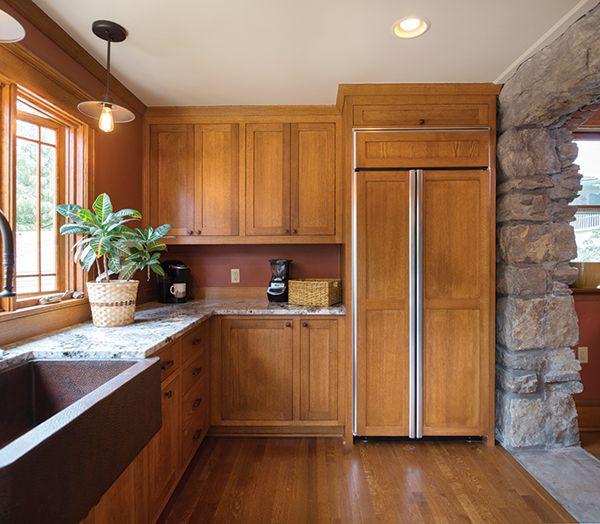 Beautiful Quarter Sawn Oak Kitchen Cabinets
