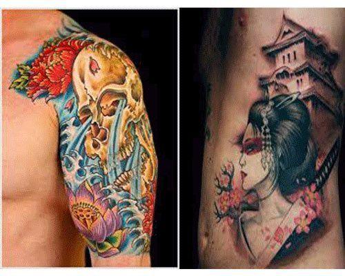 Tatuajes japoneses para hombres