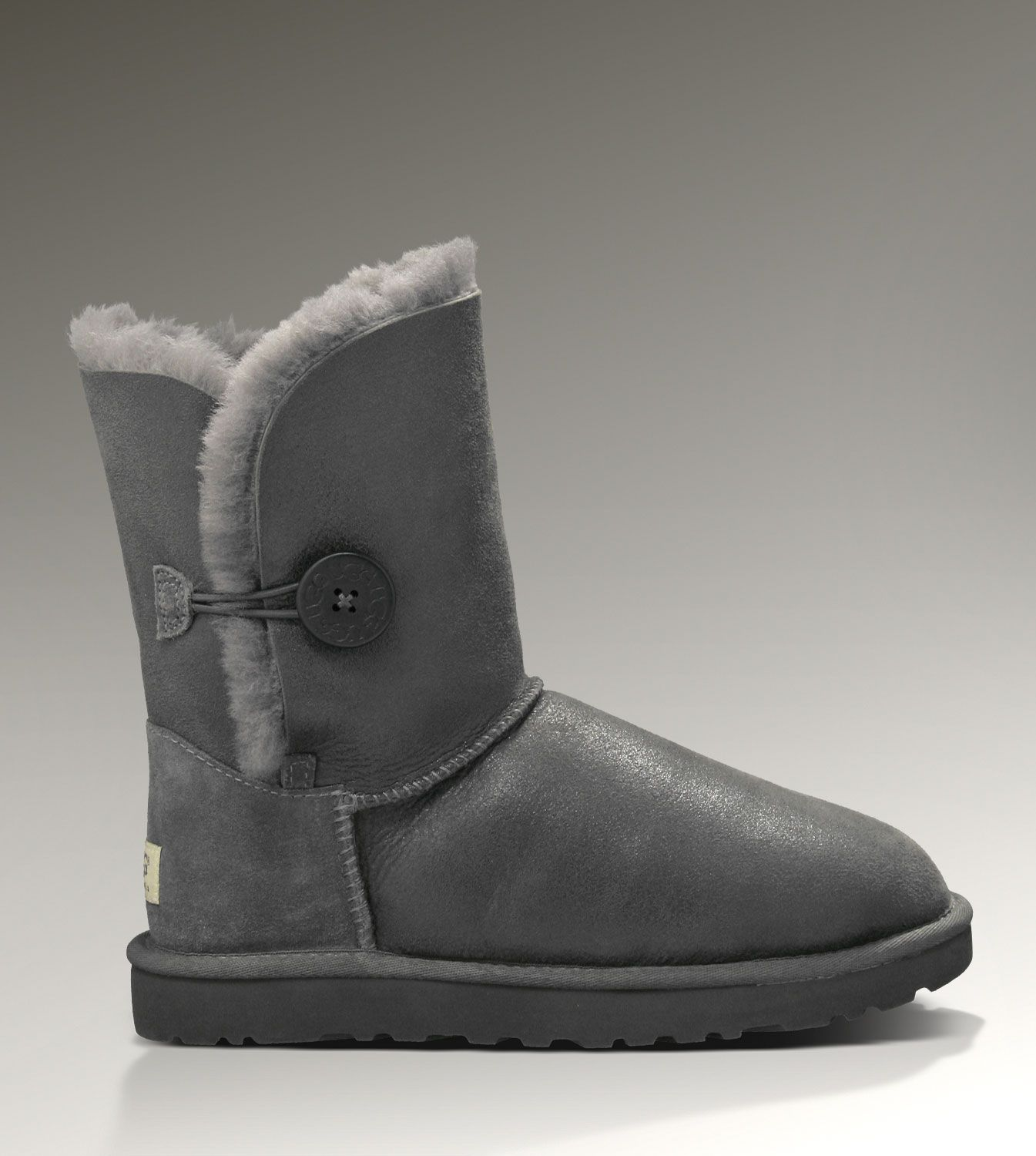 Bailey Bomber Button Women Ugg Jacket 5838 Grey Boots zq5x17pn