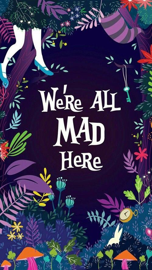 Best Alice In Wonderland Lockscreen Alice Wonderland Quotes 640 x 480