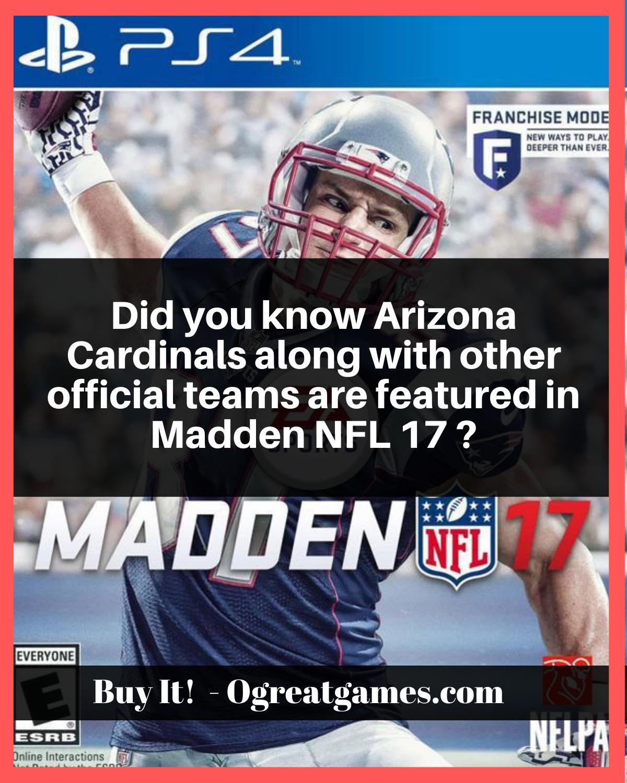 Madden NFL 17 PlayStation 4 Madden nfl, Ultimate games