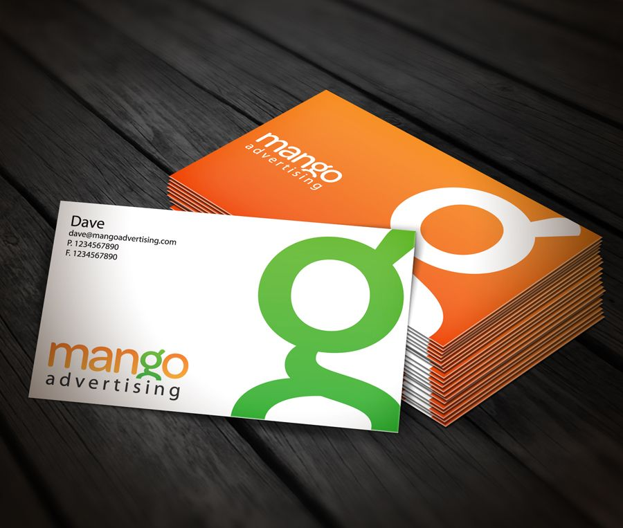Mango Business Card Logo Design Inspiration Art Logo Logos