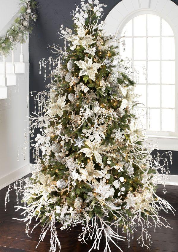 Island Christmas Theme.Arctic Palace Christmas Tree Theme Christmas Tree Themes
