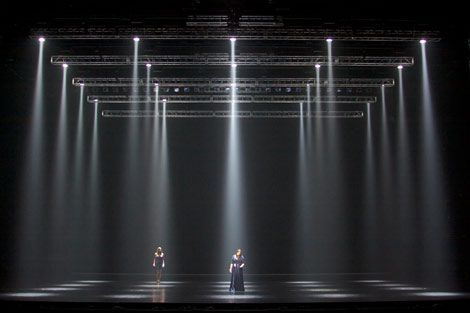 Variety Of Stage Lighting And Effects