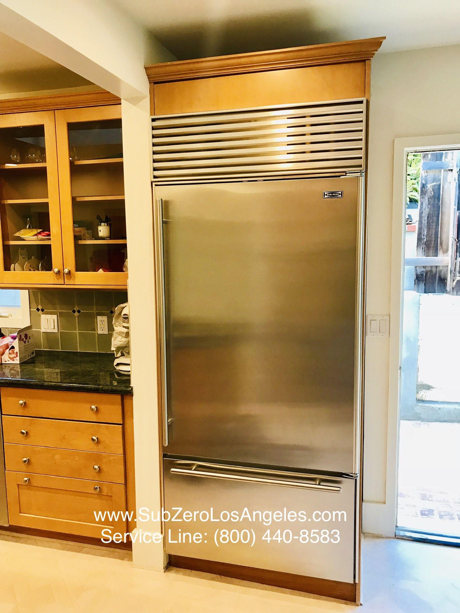 Our recent work SubZero refrigerator, model 650