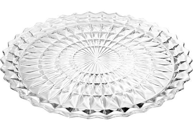 "Large Round Serving Platter on OneKingsLane.com 10"" Diameter  $49.00 - SOLD  no mark"