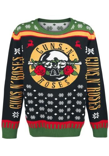 Holiday Sweater 2016 Christmas Jumper Van Guns N Roses Outdoors