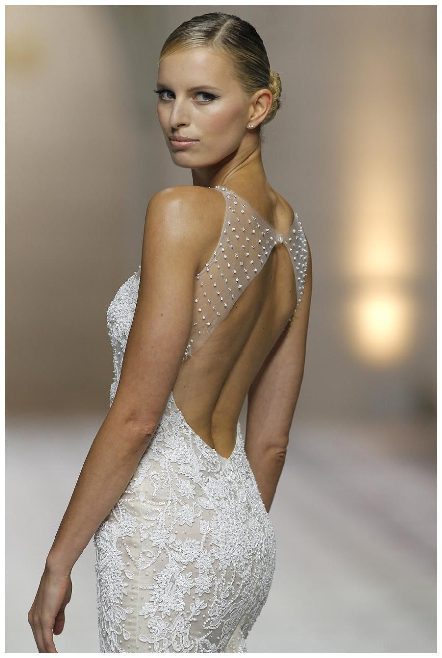 Wedding dress from the atelier pronovias collection bridal