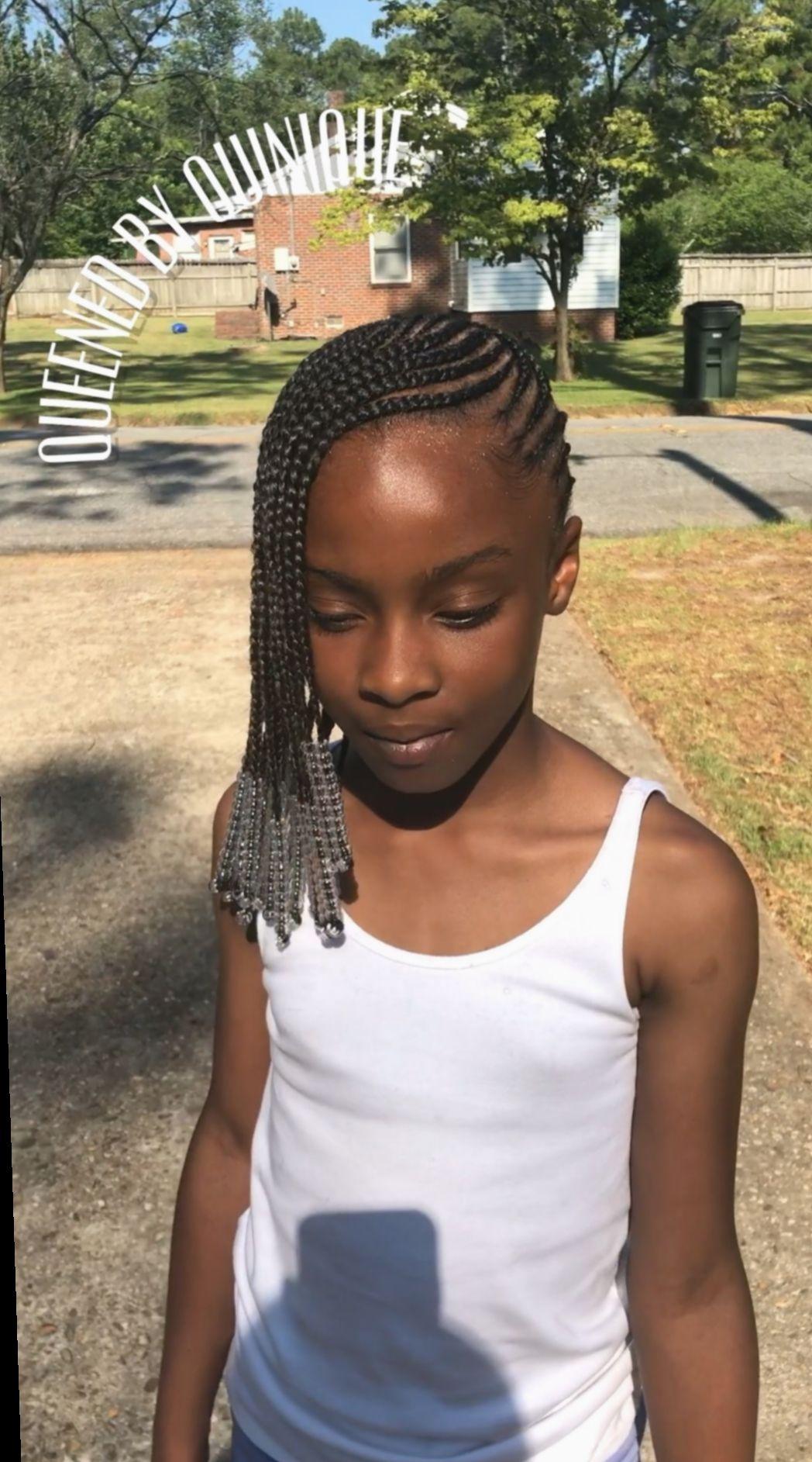 Épinglé par Traore sur coiffure (2020) Coiffure fillette