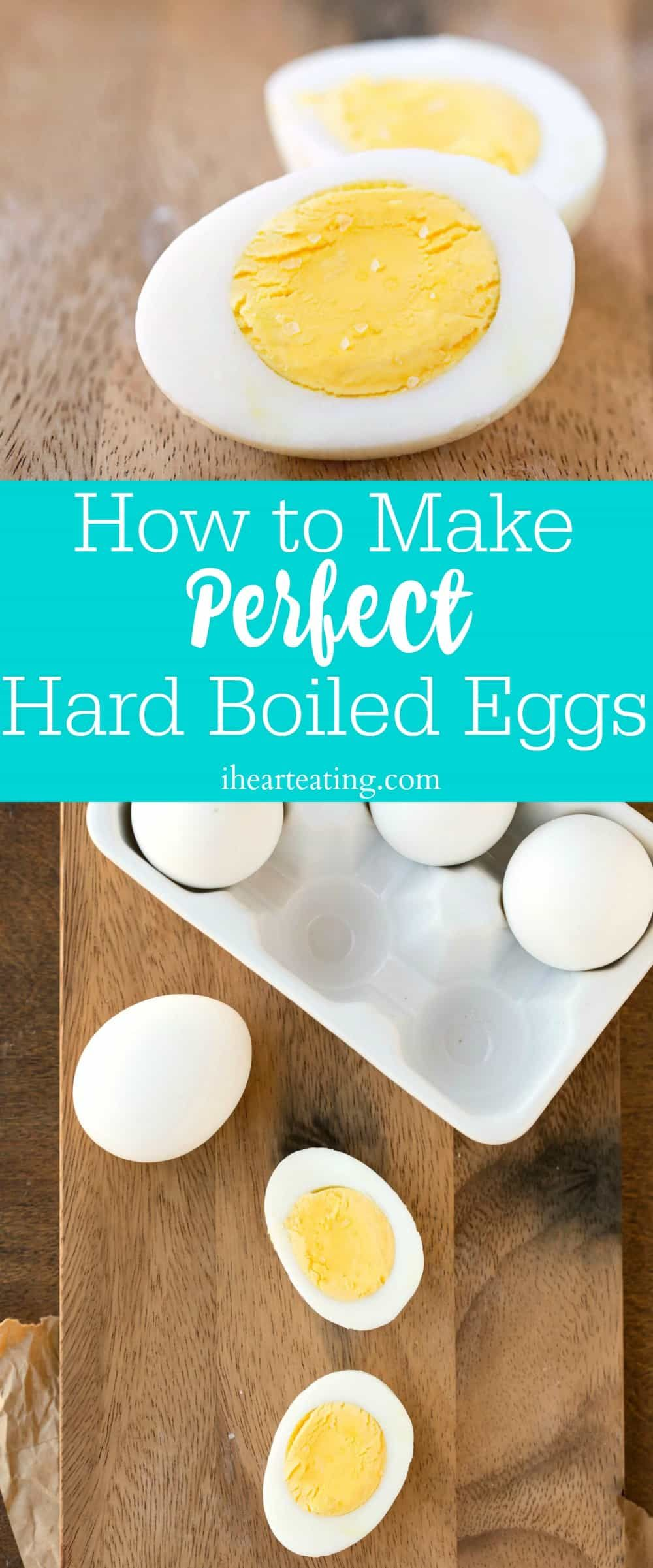 How to make and peel perfect hard boiled eggs