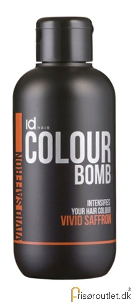 Id Hair Colour Bomb Vivid Saffron - 250 ml.