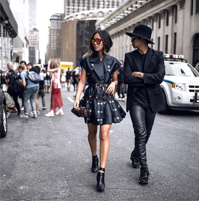 Stud Rider After Diesel Black Gold In Nyfw Song Of Style Fashion Style Song Of Style