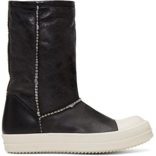 Leather PULL ON Boots Fall/winterRick Owens jBpKP