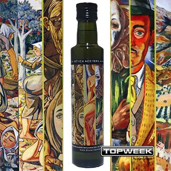 Zabaleta, un artista y el AOVE, una obra maestra / Zabaleta, an artist and the extra virgin olive oil, a masterpiece / Zabaleta, un artiste et l'huile d'olive vierge extra, un chef-d'ouvre